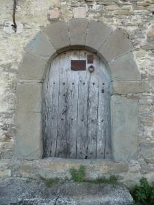 Portada lateral de la casa